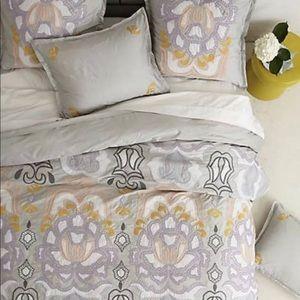 Anthropologie Bedding - Anthropologie, safia pillow standard shams